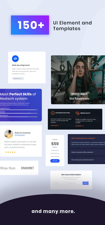 Nextech - IT Startup WordPress theme - 4