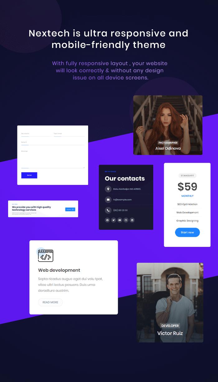 Nextech - IT Startup WordPress theme - 5